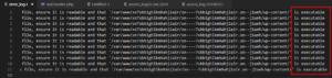 атака-1го-числа-поиск-htaccess в руте wp-content files-are-executable